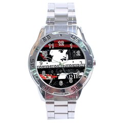 Punk Chick Stainless Steel Watch