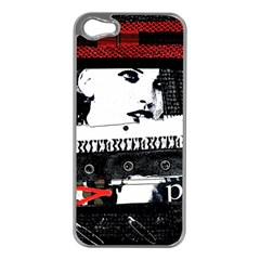 Punk Chick Apple Iphone 5 Case (silver)