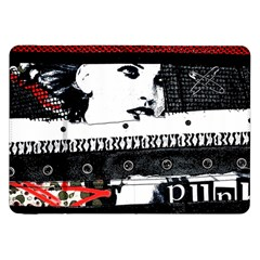 Punk Chick Samsung Galaxy Tab 8 9  P7300 Flip Case