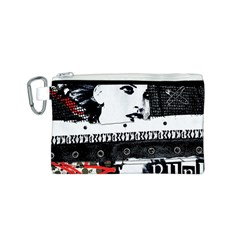 Punk Chick Canvas Cosmetic Bag (Small)
