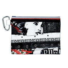 Punk Chick Canvas Cosmetic Bag (Large)