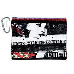 Punk Chick Canvas Cosmetic Bag (XL)