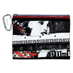 Punk Chick Canvas Cosmetic Bag (XXL)