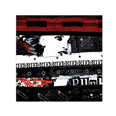 Punk Chick Small Satin Scarf (Square)