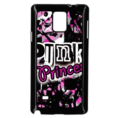 Punk Princess Samsung Galaxy Note 4 Case (Black)