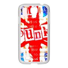 Punk Union Jack Samsung Galaxy S4 I9500/ I9505 Case (white)