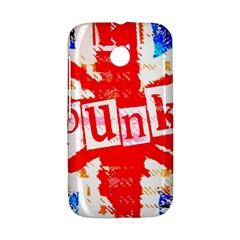 Punk Union Jack Motorola Moto E Hardshell Case