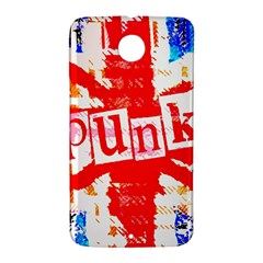 Punk Union Jack Google Nexus 6 Case (White)