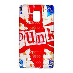 Punk Union Jack Samsung Galaxy Note Edge Hardshell Case