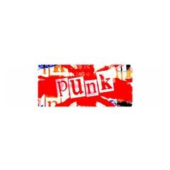 Punk Union Jack Satin Scarf (oblong)