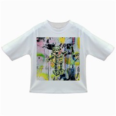 Graffiti Graphic Robot Baby T-shirt