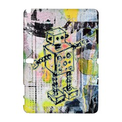 Graffiti Graphic Robot Samsung Galaxy Note 10 1 (p600) Hardshell Case