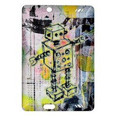 Graffiti Graphic Robot Kindle Fire Hd (2013) Hardshell Case