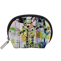Graffiti Graphic Robot Accessory Pouch (Small)