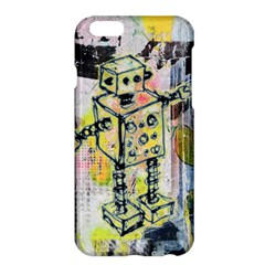 Graffiti Graphic Robot Apple iPhone 6 Plus Hardshell Case