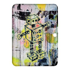 Graffiti Graphic Robot Samsung Galaxy Tab 4 (10 1 ) Hardshell Case
