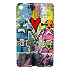 Graffiti Pop Robot Love Google Nexus 7 (2013) Hardshell Case