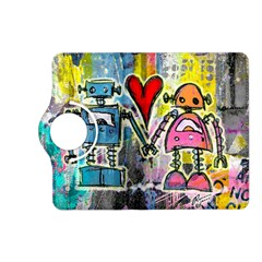 Graffiti Pop Robot Love Kindle Fire HD (2013) Flip 360 Case