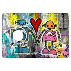 Graffiti Pop Robot Love Kindle Fire Hdx Flip 360 Case