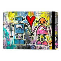 Graffiti Pop Robot Love Samsung Galaxy Tab Pro 10 1  Flip Case