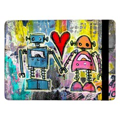 Graffiti Pop Robot Love Samsung Galaxy Tab Pro 12.2  Flip Case