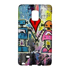 Graffiti Pop Robot Love Samsung Galaxy Note Edge Hardshell Case