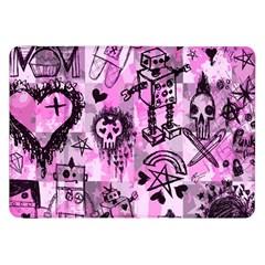 Pink Scene Kid Sketches Samsung Galaxy Tab 8 9  P7300 Flip Case
