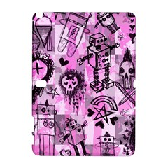 Pink Scene Kid Sketches Samsung Galaxy Note 10.1 (P600) Hardshell Case