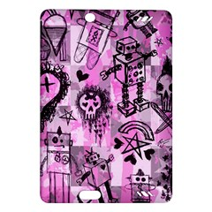 Pink Scene Kid Sketches Kindle Fire Hd (2013) Hardshell Case