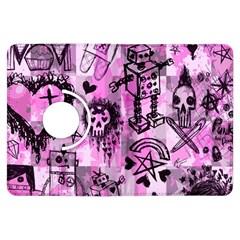 Pink Scene Kid Sketches Kindle Fire HDX Flip 360 Case