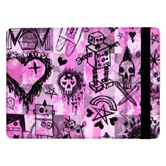 Pink Scene Kid Sketches Samsung Galaxy Tab Pro 12.2  Flip Case