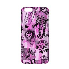 Pink Scene Kid Sketches Apple iPhone 6 Hardshell Case