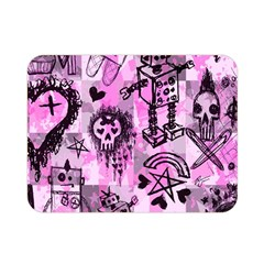 Pink Scene Kid Sketches Double Sided Flano Blanket (mini)