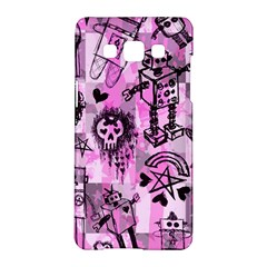 Pink Scene Kid Sketches Samsung Galaxy A5 Hardshell Case