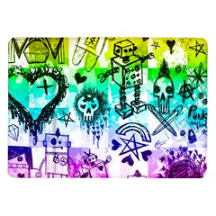 Rainbow Scene Kid Sketches Samsung Galaxy Tab 10 1  P7500 Flip Case