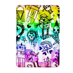 Rainbow Scene Kid Sketches Samsung Galaxy Tab 2 (10.1 ) P5100 Hardshell Case
