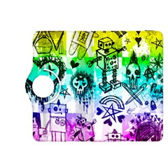 Rainbow Scene Kid Sketches Kindle Fire Hdx 8 9  Flip 360 Case