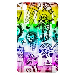 Rainbow Scene Kid Sketches Samsung Galaxy Tab Pro 8.4 Hardshell Case