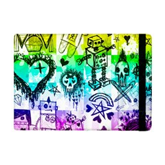 Rainbow Scene Kid Sketches Apple iPad Mini 2 Flip Case