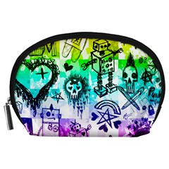 Rainbow Scene Kid Sketches Accessory Pouch (Large)
