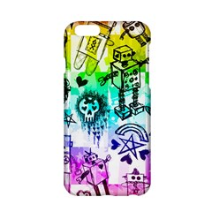 Rainbow Scene Kid Sketches Apple iPhone 6 Hardshell Case
