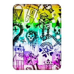 Rainbow Scene Kid Sketches Samsung Galaxy Tab 4 (10.1 ) Hardshell Case
