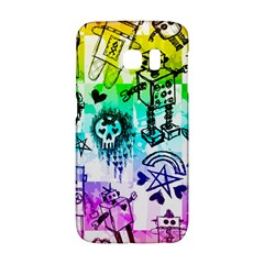 Rainbow Scene Kid Sketches Samsung Galaxy S6 Edge Hardshell Case