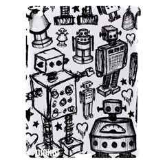 Robot Crowd Apple Ipad 3/4 Hardshell Case (compatible With Smart Cover)