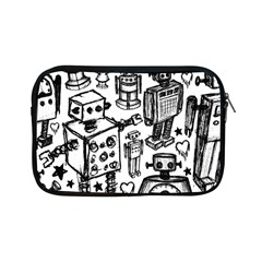 Robot Crowd Apple Ipad Mini Zippered Sleeve
