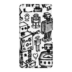Robot Crowd Sony Xperia Z1 Compact Hardshell Case