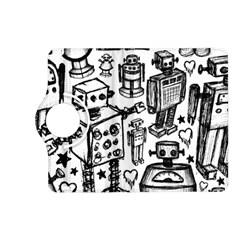 Robot Crowd Kindle Fire HD (2013) Flip 360 Case