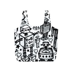 Robot Crowd Reusable Bag (s)