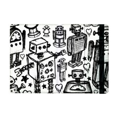 Robot Crowd Apple Ipad Mini 2 Flip Case