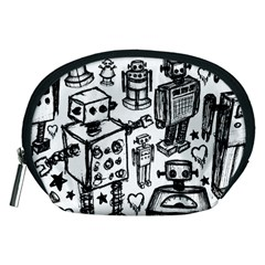 Robot Crowd Accessory Pouch (medium)